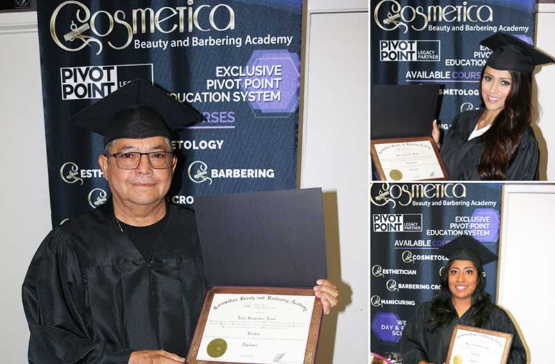 Cosmetica Academy Graduates 2019
